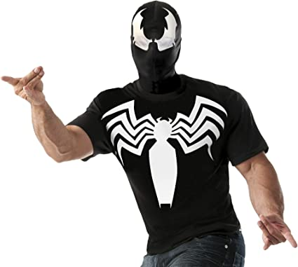 2018 New Venom T-Shirts Superhero Men Compression Tights T-Shirt New