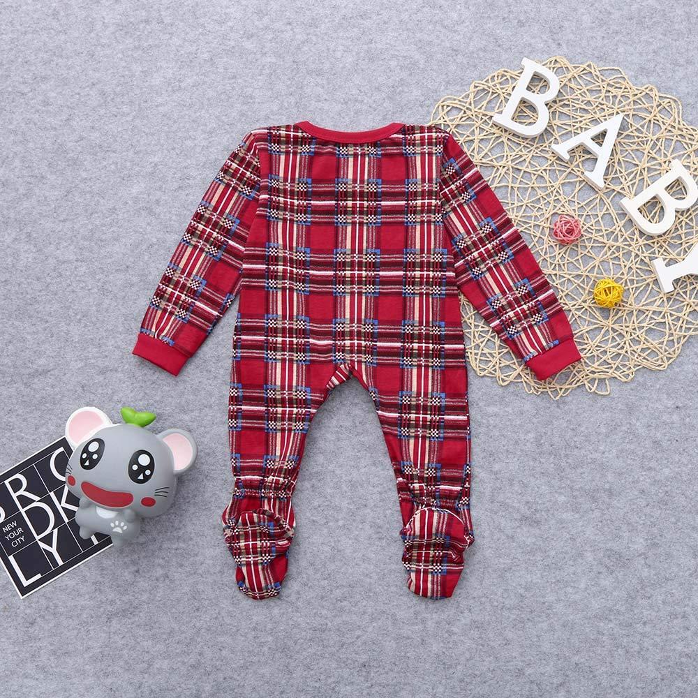Christmas Family Matching Pyjama,Baby Women Men Xmas Family Matching PJs Sets 2Pcs Sleepwear Nightwear Pyjamas