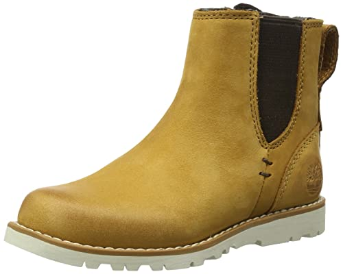 Timberland EK 2.0 FTK_EK 2.0 Chelsea - Botines chelsea de cuero niño, color amarillo, talla 29: Amazon.es: Zapatos y complementos