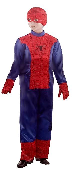 Disfraz de spiderman rojo 8 - 12 años tamaño L Masquerade disfraz ...