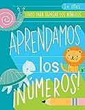 Aprendamos los números: Libro para repasar los números: 3+ años: Cuaderno de actividades para practicar los trazos de los números con temática de ... matemáticas y escritura) (Spanish Edition)