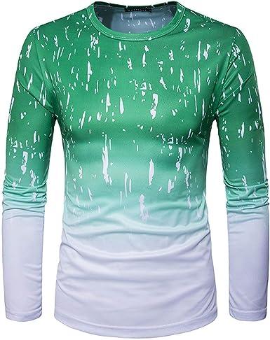 Camisa De Hombre con Cuello En Impresión O 3D Tops Digital ...