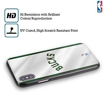 Official NBA Banner Milwaukee Bucks Black Soft Gel Case: Amazon co
