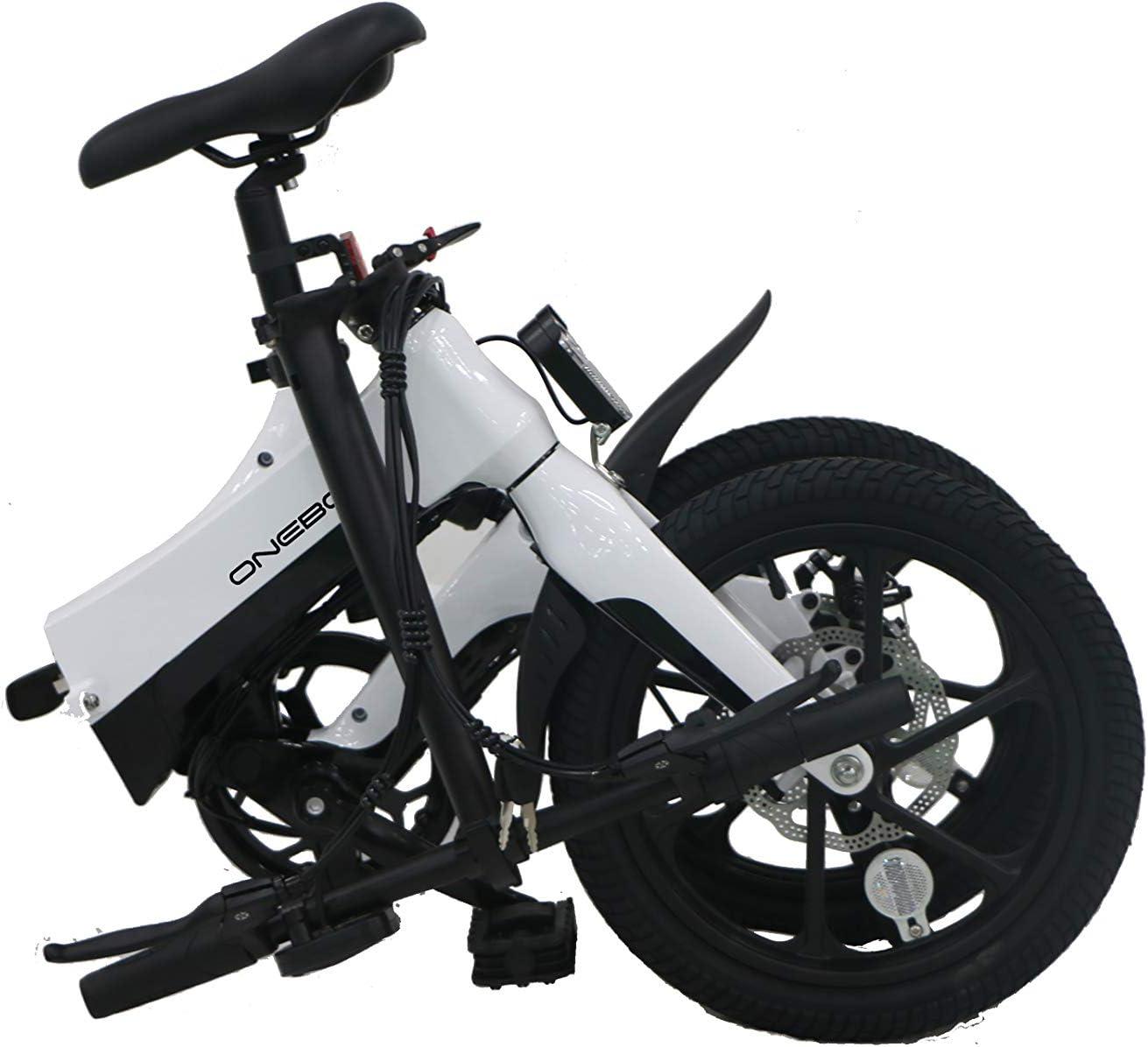 Aurora Ebike - Bicicleta eléctrica de 15,74 Pulgadas, 36 V/6 A, batería de Iones de Litio, 250 W, 25 km/h (Full Electric Drive Can Drive, 25-30 km): Amazon.es: Deportes y aire libre