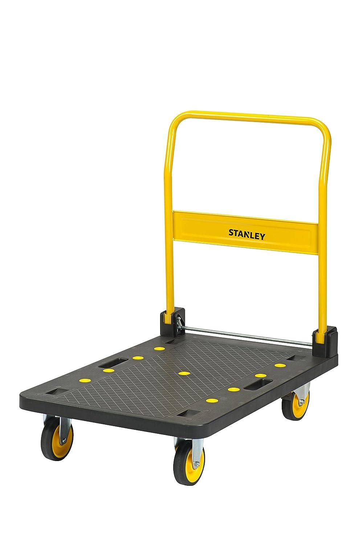 Stanley SXWTD-PC527 150 kg Steel Platform Truck - Yellow Shunhe