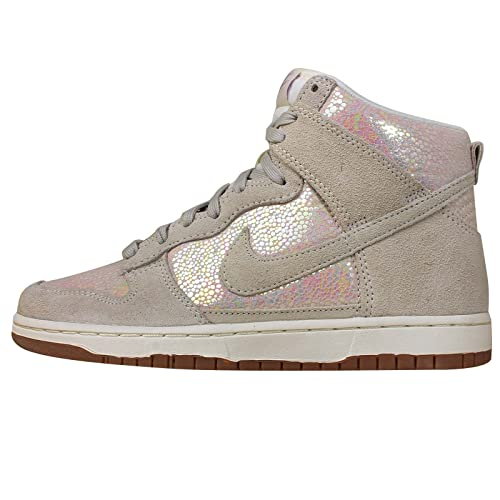 the latest 91ee8 50427 Nike – Maglietta – Donna Dunk High Skinny, Colore Beige Marrone Chiaro –  472488