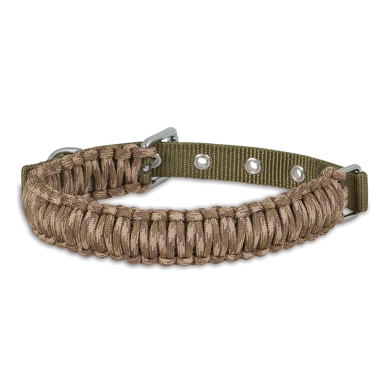 Camo Small 3 4\ Camo Small 3 4\ Aspen Pet 00382 Paracord Dog Collar Small 3 4-Inch X 14-18-Inch, Camo