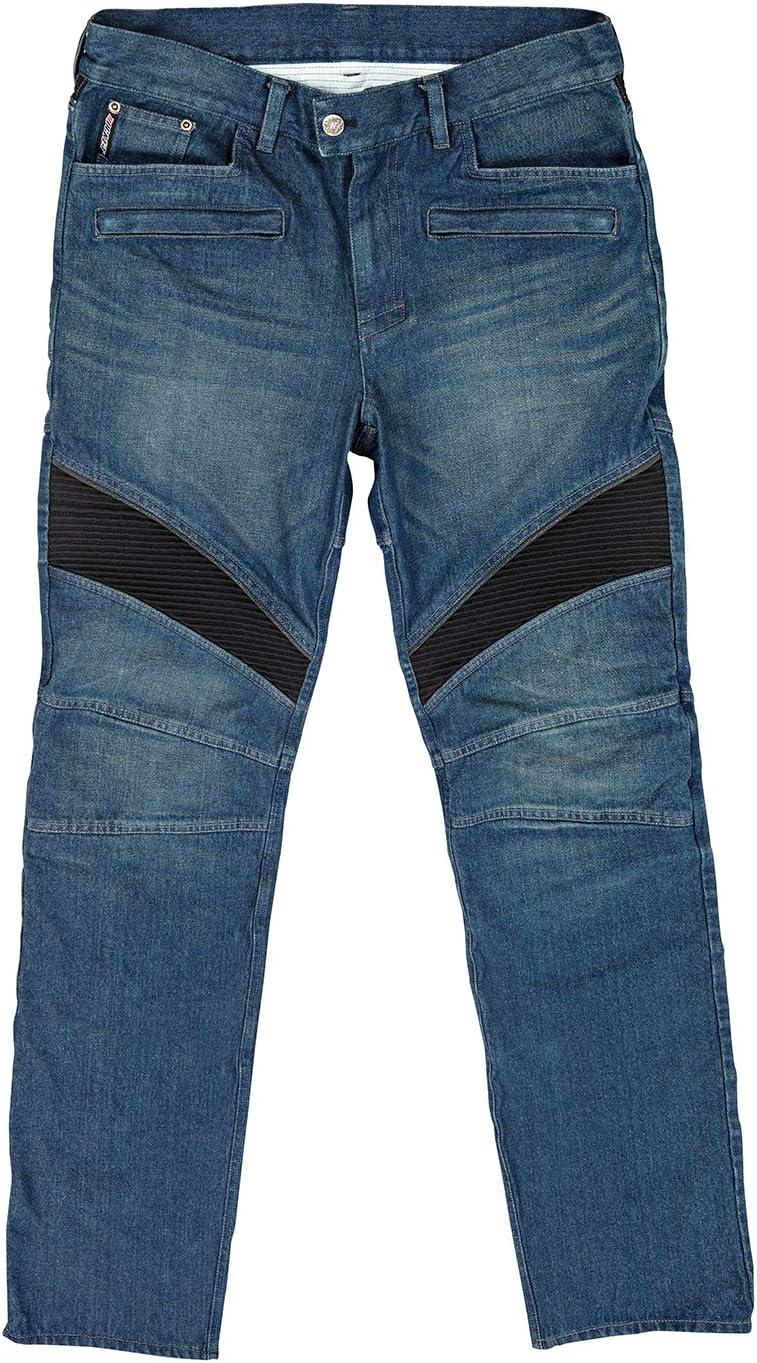Blue, Size 34 Joe Rocket Mens Accelerator Jean Kevlar Reinforced Short