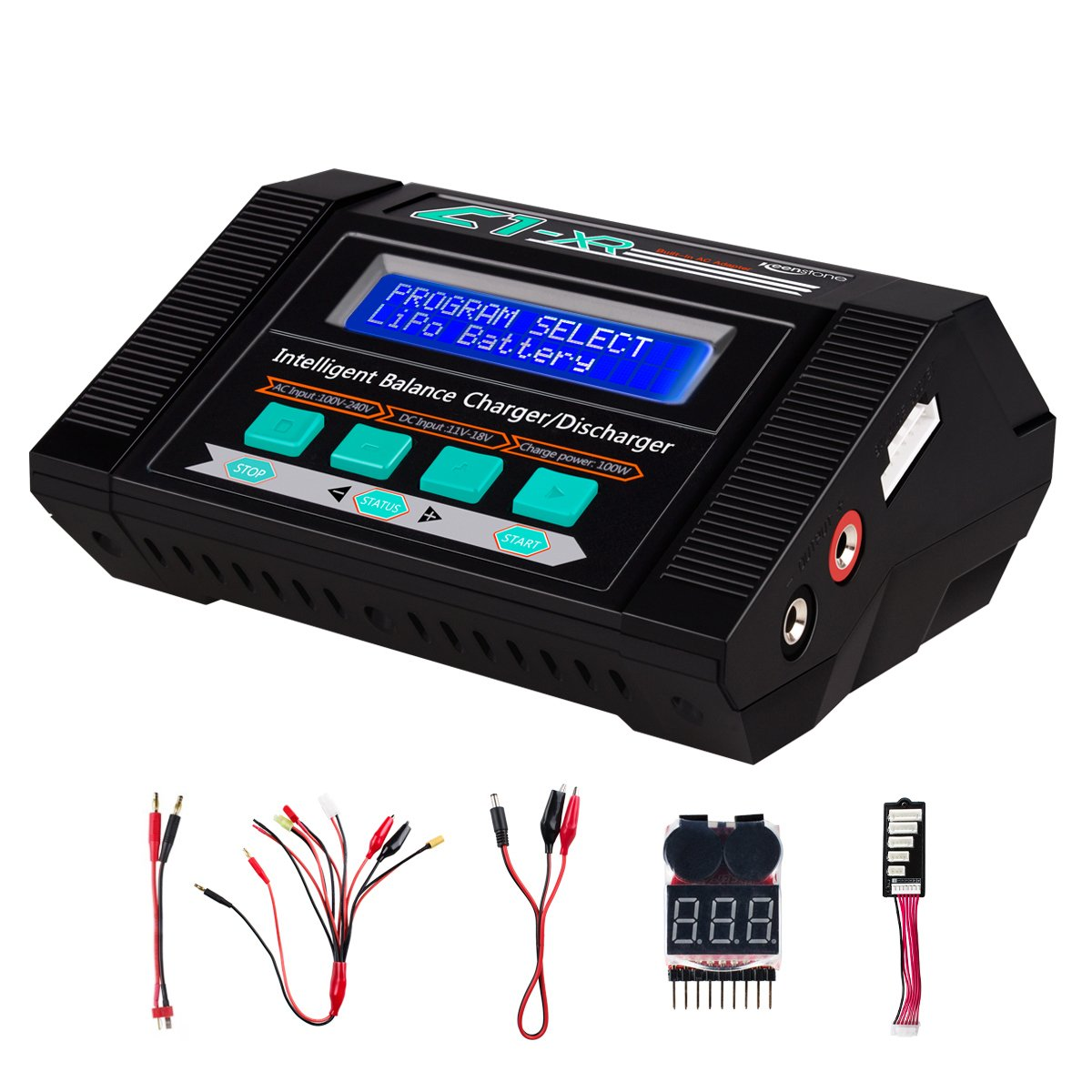 30off Keenstone Lipo Battery Charger Discharger With Low Voltage Mbot Li Polymer Checker 10a 100w