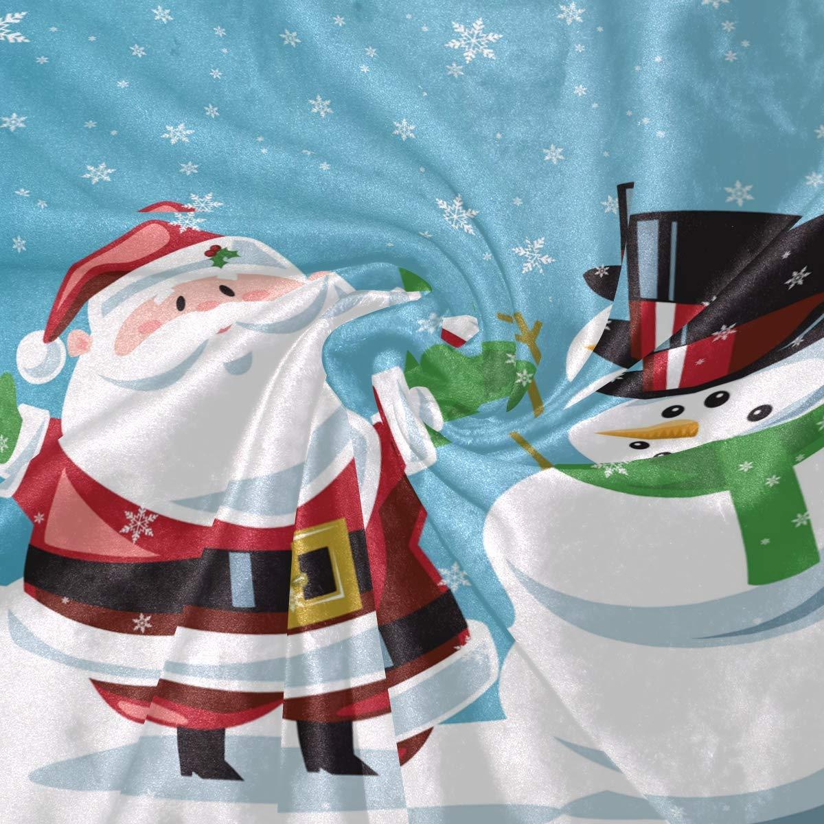 Amazon.com: Wamika Merry Christmas Throw Blanket Home Decor, Super ...
