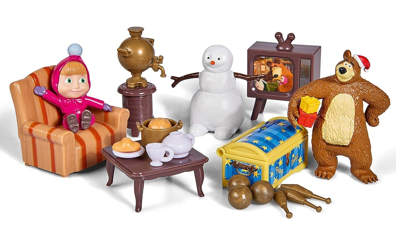 /Masha capanna michka Inverno Web Bambola Simba/ 7//109301023web