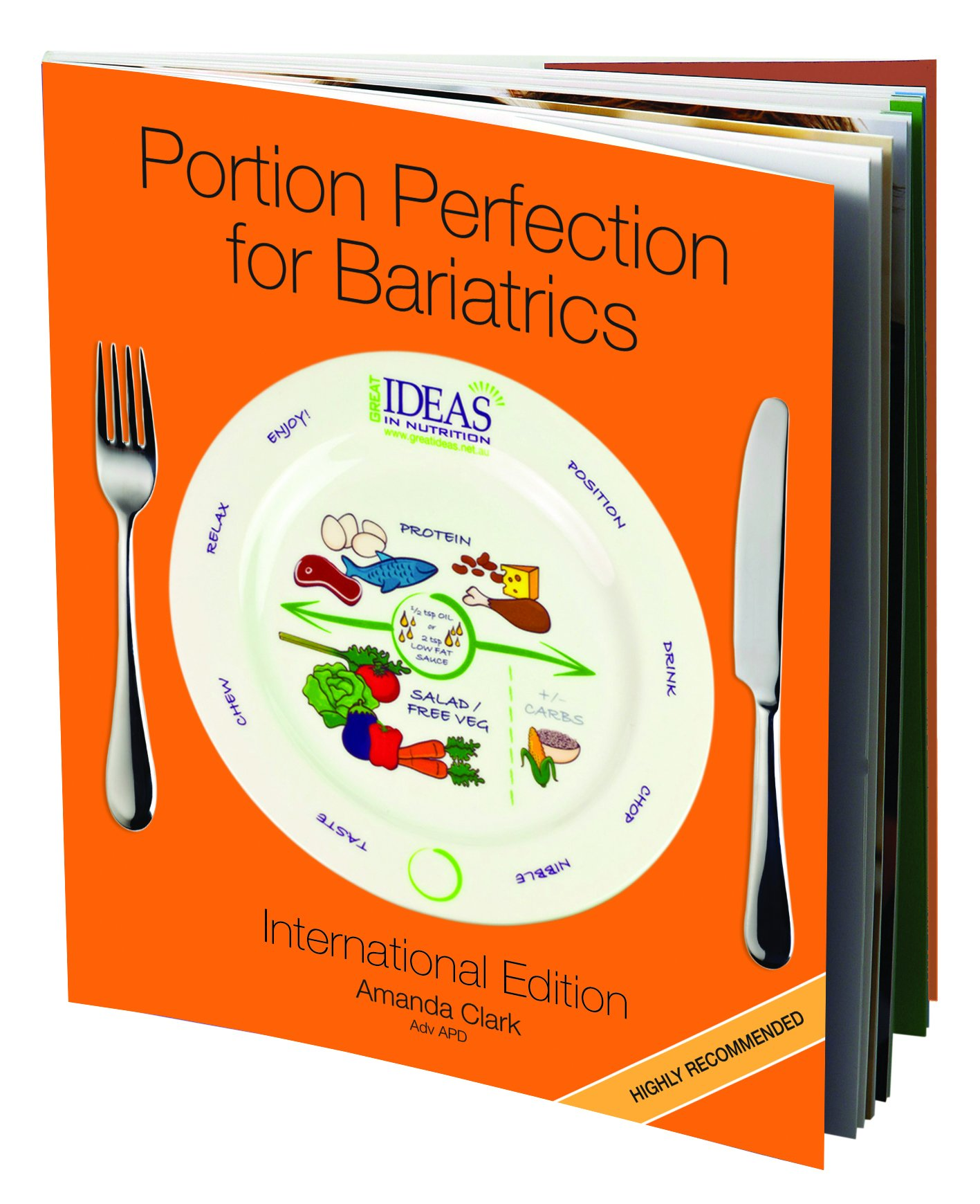Bariatric Cookbook Surgery Weight Loss Program Kit Easy Tools for Portion Control Dieting After Sleeve Gastrectomy, Gastric Bypass, Balloon & Banding & Free Bonus Vegetable Cookbook by Portion Perfection (Image #2)