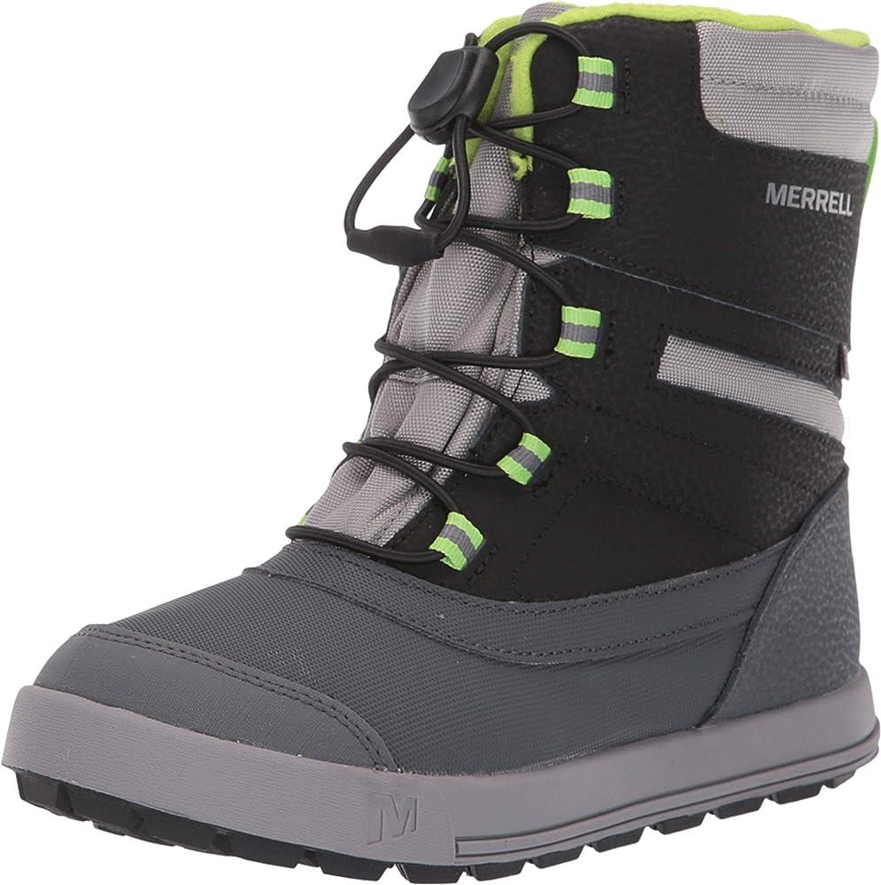 Merrell Kids Snow Storm Waterproof Boot