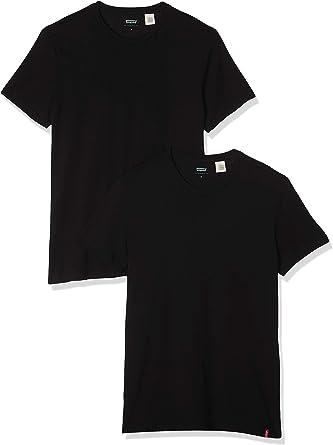 Comprar Levi's Slim 2pk Crewneck 1 Camiseta (Pack de 2) para Hombre Talla S