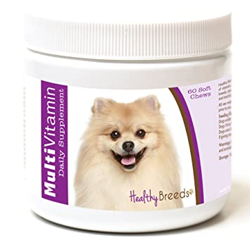 Amazoncom Healthy Breeds Multivitamin For Dogs For Pomeranian