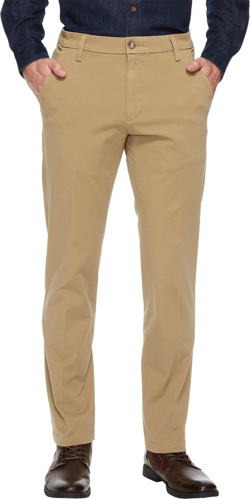 Dockers Men's Slim Tapered Fit Workday Khaki Smart 360 Flex Pants, New British Khaki (Stretch), 38W x 32L