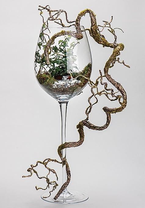 Deko Weinglas Deko Weinglas Klar 23x70cm 45130 Amazonde Spielzeug