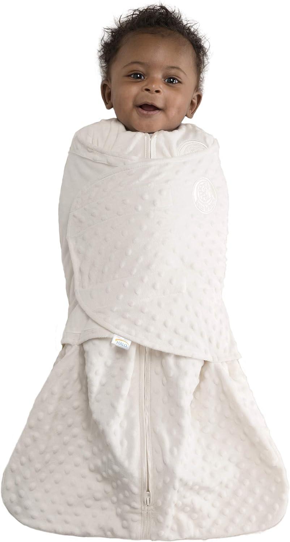 HALO Max 88% OFF Sleepsack Swaddle Animer and price revision Velboa Cream Dots Small Plush
