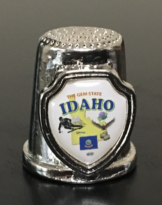 Idaho Souvenir Thimble ID