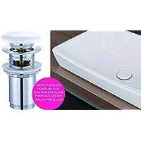 Kibath 215171 Válvula Clic Clac de Porcelana Blanca