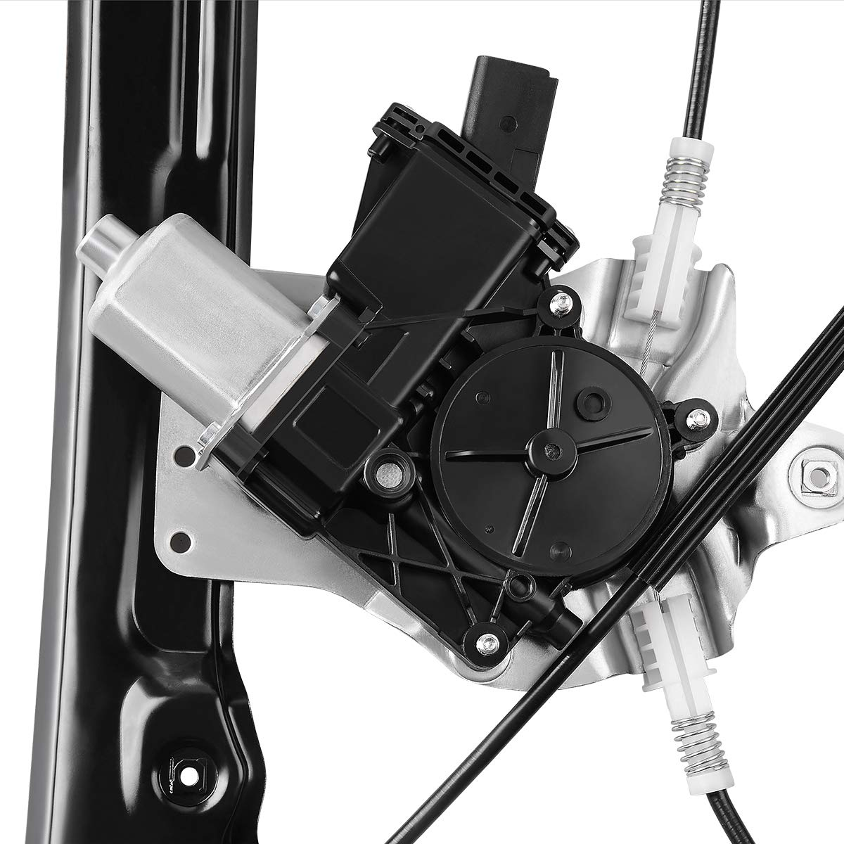 Front LH Driver Side 6 Pin Connector. Power Window Regulator With Motor Assembly for 2011-2015 Chevrolet Cruze