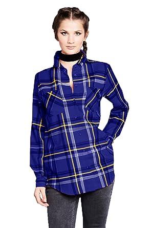 1ea5074e61b Brave Soul Womens Diana Checked Cotton Lumberjack Shirt Red  Amazon.co.uk   Clothing