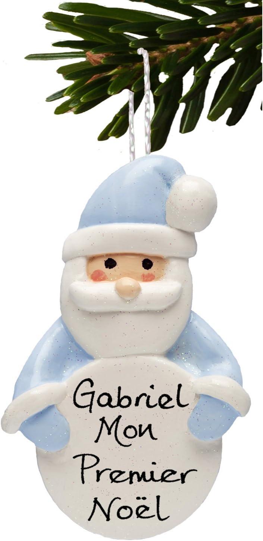 Arbre de noël décoration santa clé personnalisé enfant nom enfants noël souvenir