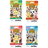 Nintendo Animal Crossing amiibo Cards Series 1, 2, 3, 4 for Nintendo Wii U and 3DS, 1-Pack (6 Cards/Pack) (Bundle…