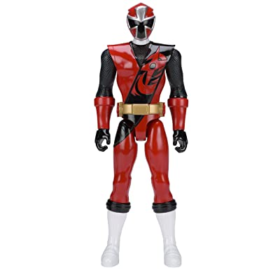 Power Rangers Ninja Steel 12-Inch Red Ranger Figure: Toys & Games