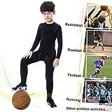 TERODACO Kids Athletic Pants and Shirts 2 Pcs