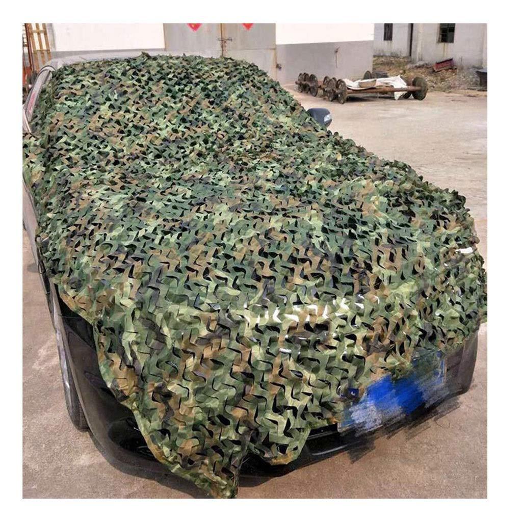 44M(13.113.1ft) Ombrage Filet Vert Camouflage Filet Oxford Auvent En Toile 3x4m Enfants En Plein Air Camping Jardin Décoration Vie Privée Armée Armée Caché Camouflage Chasse Tir 4x5m ( Taille   48M(13.126.2ft) )