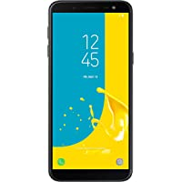 Samsung Galaxy J6 2018 32 GB UK SIM-Free Smartphone, Black, UK Version