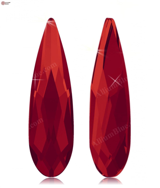 Cristales de Swarovski 5161183 Piedras Strass No Hotfix 2304 MM 14,0X 3,9 Light SIAM F, 96 Piezas