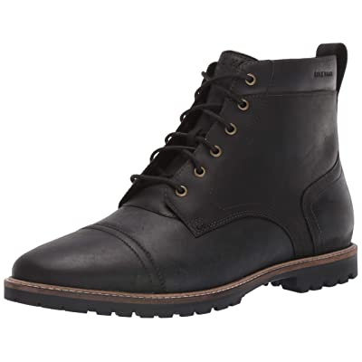 Cole Haan Men's Nathan Cap Boot:Black Fashion Boot | Boots