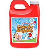 Toyard Bubbles Solution Refill Concentrate for Giant Bubble Machine Wands 32 Ounce (up to 2.5 Gallon)