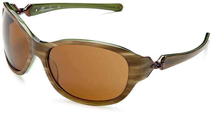 womens oakley abandon sunglasses  oakley women's abandon sunglasses,moss frame/dark bronze lens,one size
