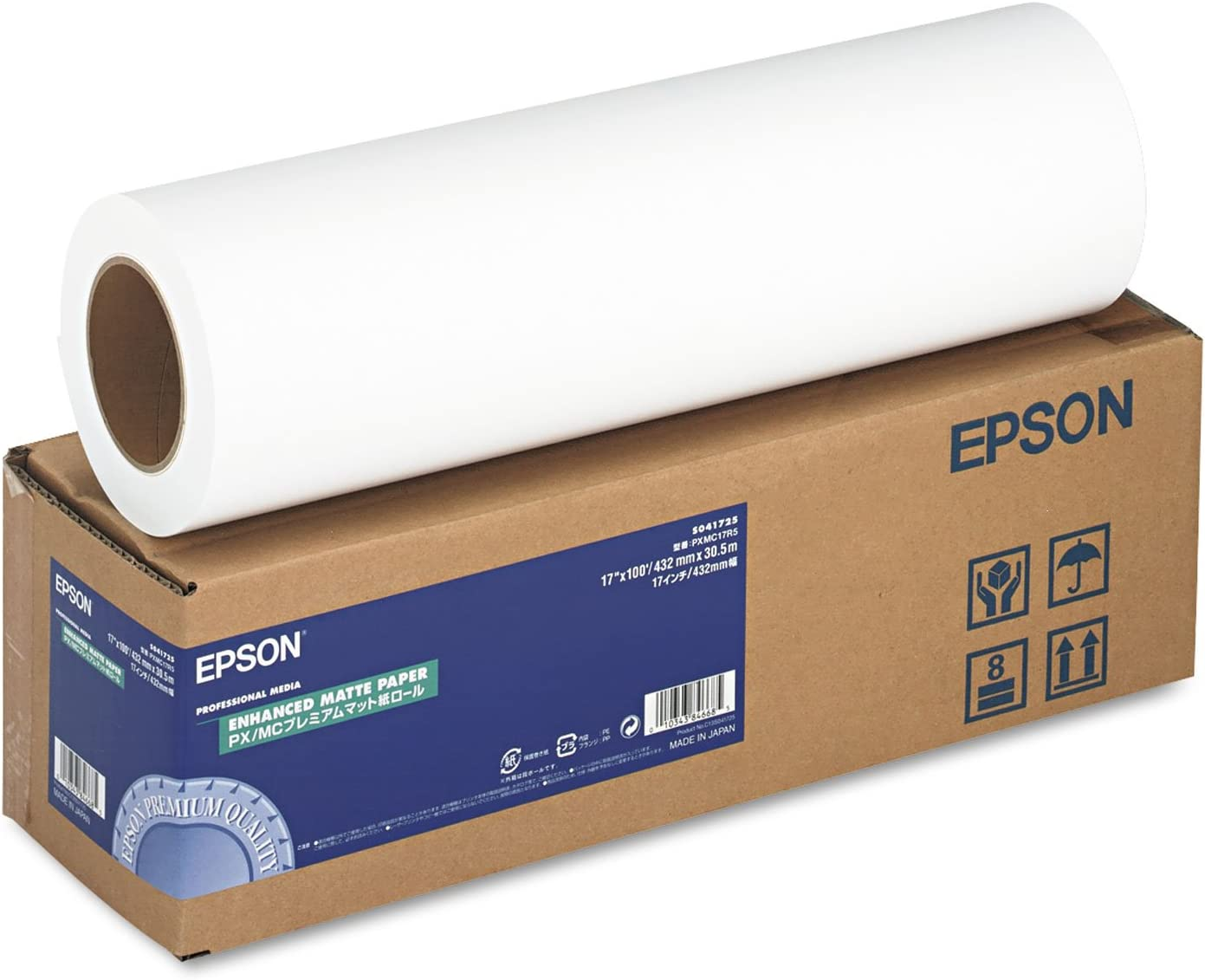 36in X 100ft Enhanced Matte Paper F//Sp Plotters