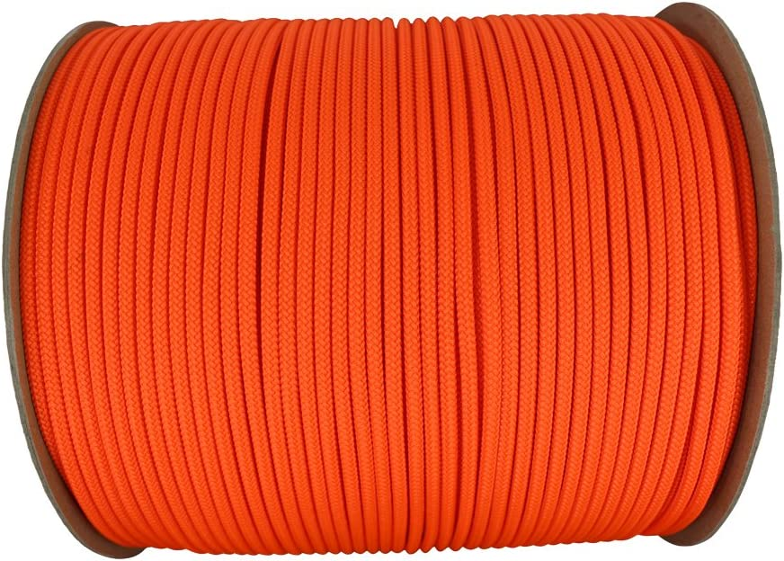 10 ft - 100 ft 100/% Polyester Rope Cargo Tie-Downs Crafting SGT KNOTS Dacron Polyester Accessory Cord Multi-Purpose Polydac Line DIY Projects More for Boating Camping 3mm - 6mm
