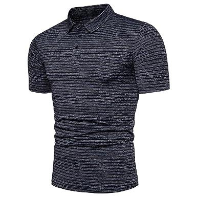 78f1a965c Amazon.com: Mens Dry Fit Golf Polo Shirt, Athletic Short-Sleeve Polo ...