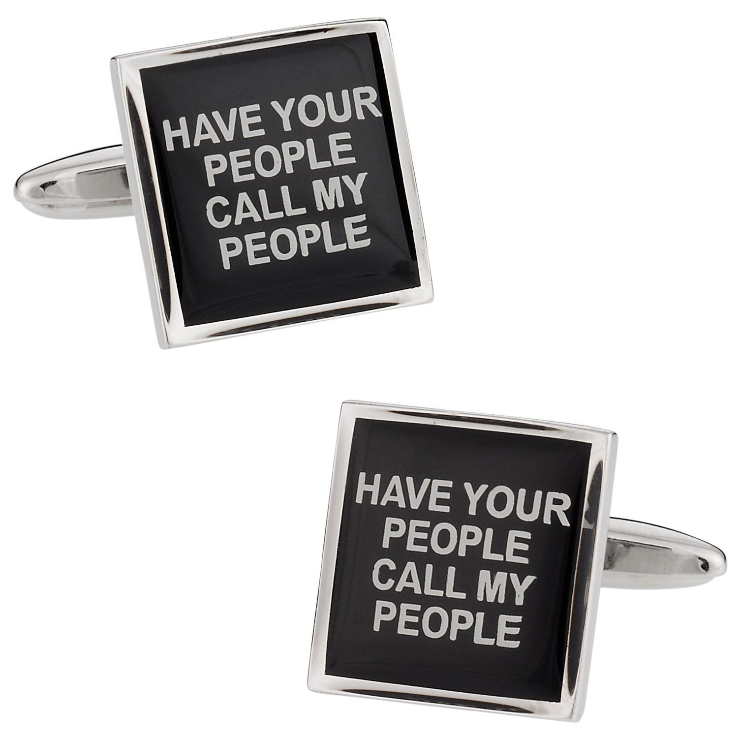 Cuff-Daddy Have Your People Call My People Cufflinks Cuff Links CD-1977