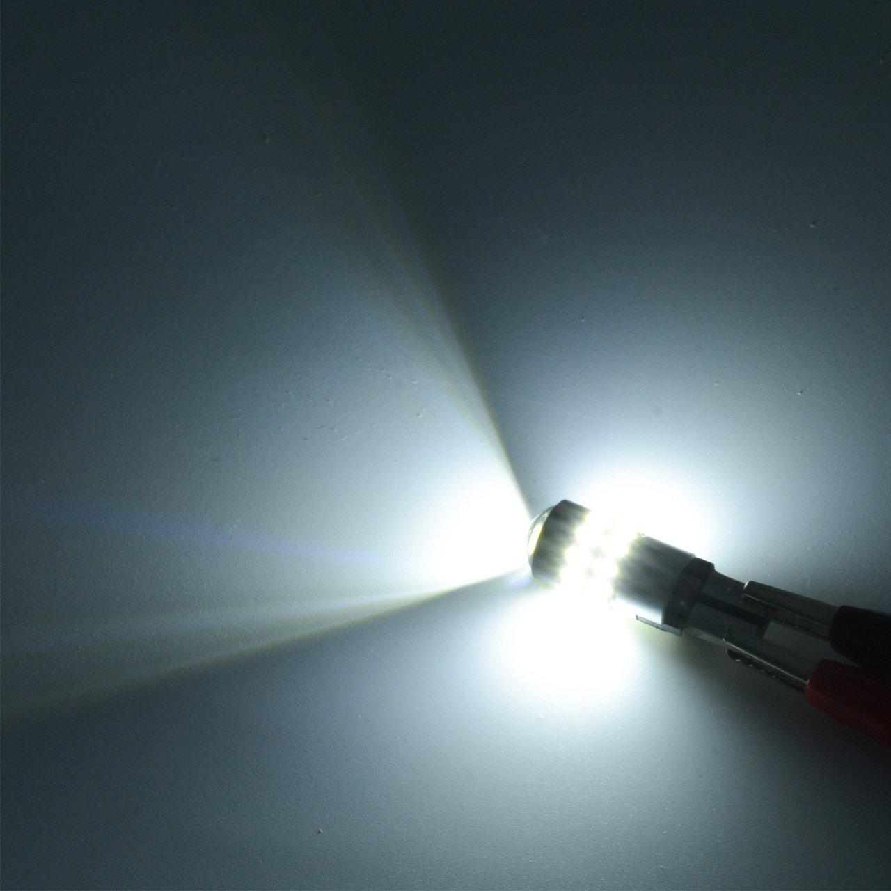 TUINCYN T10 194 Bombilla LED CANBUS Sin errores 2825 W5W 168 192 175 912 921 Luz interior Festoon Dome Matr/ícula Marcadores laterales de luz paquete de 4