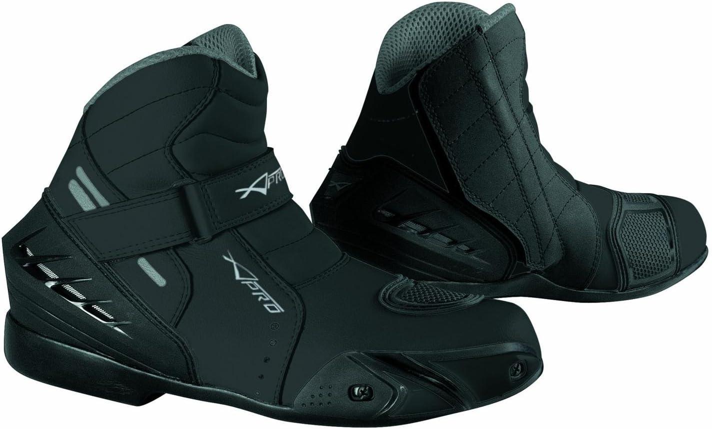 Chaussures Moto Motard Sport Touring Bottes Homme Renforc/és Bottines noir 43