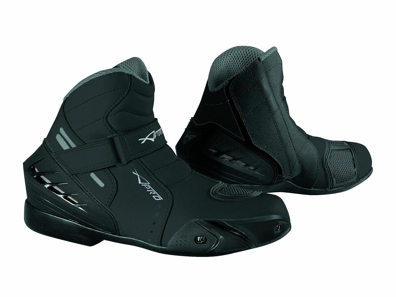 Chaussures Moto Motard Sport Touring Bottes Homme Renforc/és Bottines noir 40
