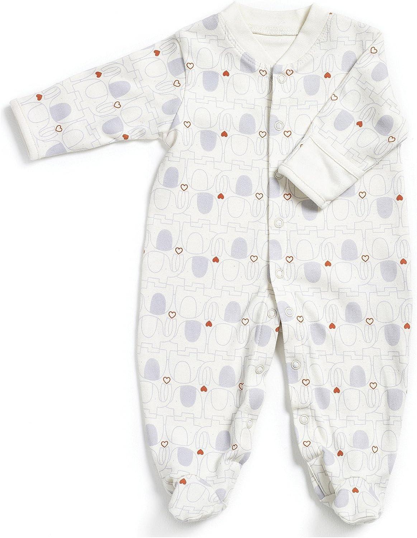 Katies Playpen / Baby BEST BUYS Natures - Pijama de algodón orgánico puro de color crema de mis primeros amigos – 3 a 6 meses: Amazon.es: Ropa y accesorios