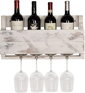 del hutson designs the little elm wine rack usa handmade reclaimed wood wall