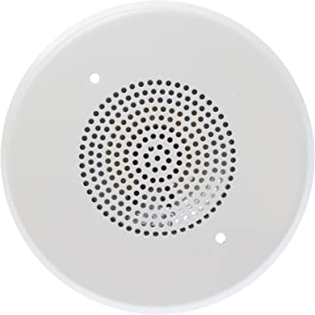"WHITE NEW EDWARDS 965-1A-4RW 4/"" CONE SPEAKER 70VRMS"