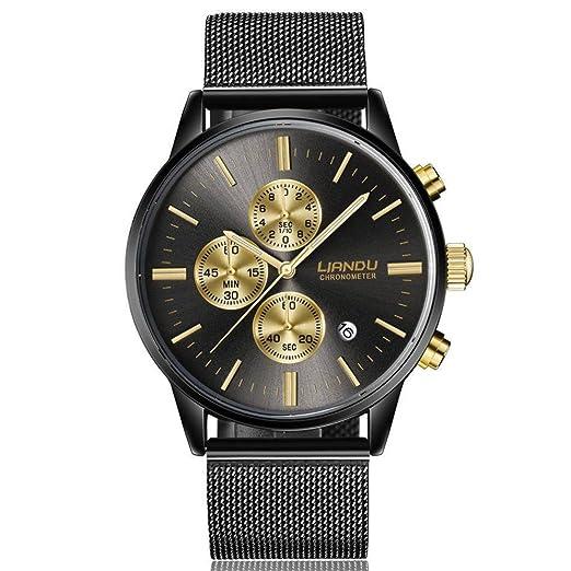Pocciol Watches Waterproof Sport Watch Luminous Analog Quartz Business Luxury Dress Wrist Watch Casual Clock Watches