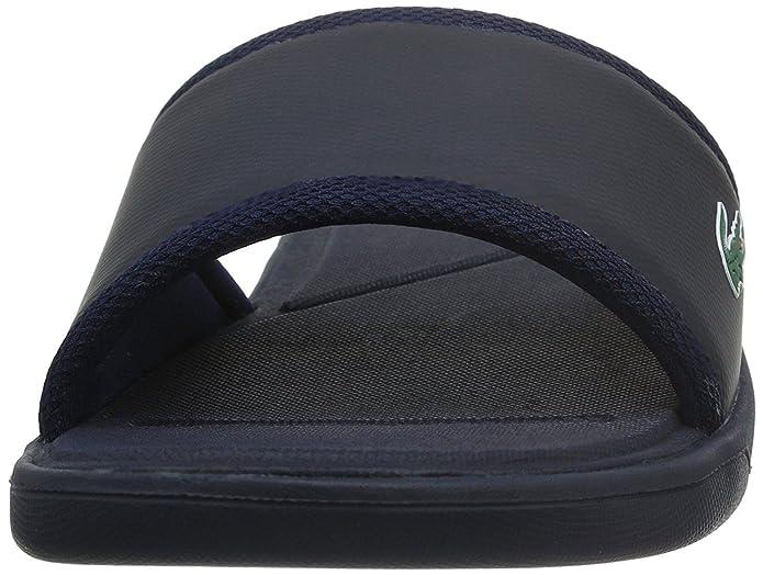 a34a7ffb0efc Lacoste L.30 Slide Sport Navy Mens Beach Summer Flip Flops -8   Amazon.co.uk  Shoes   Bags