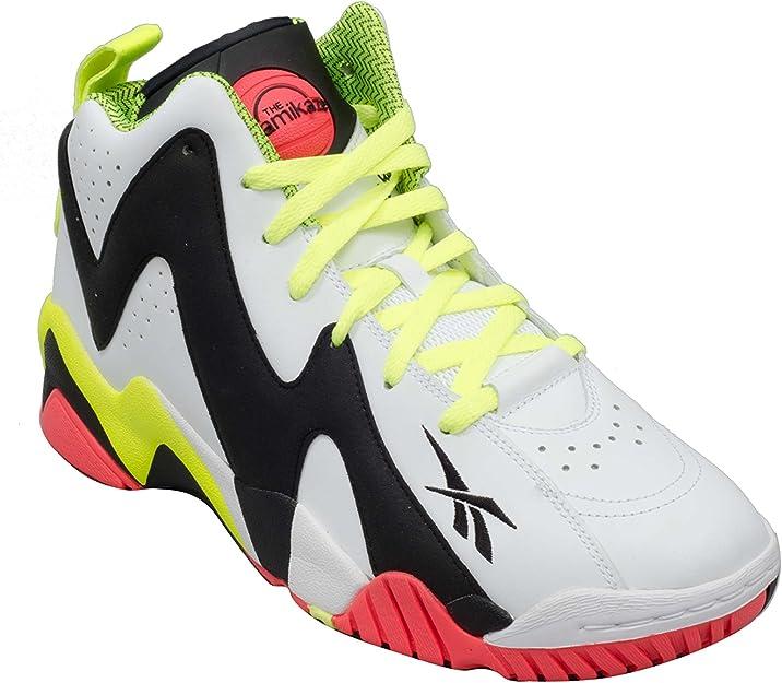 Reebok Pump Kamikaze II - Zapatillas deportivas para hombre (talla única), (White Noir), 40 EU: Amazon.es: Zapatos y complementos