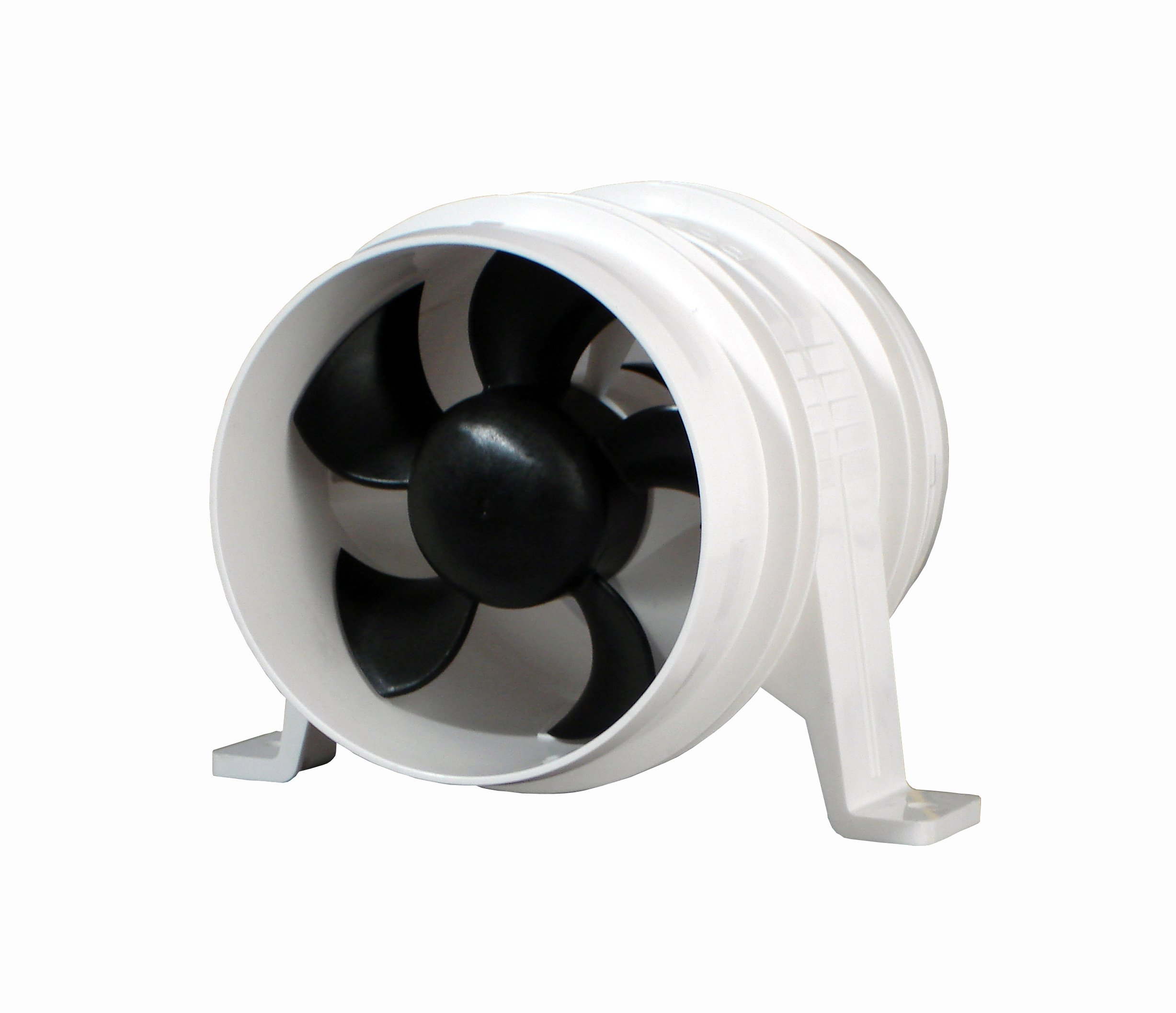 Attwood Quiet Blower Water Resistant (White, 4-Inch)